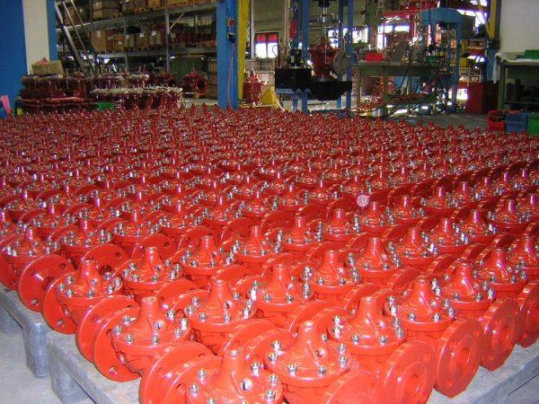 CLA-VAL Gamme de production petit diamètre