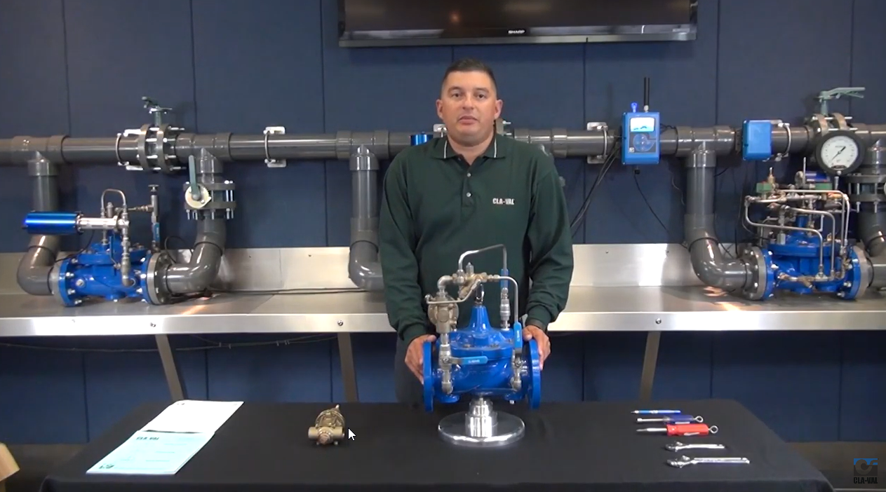 CLA-VAL 50-01 Pressure Relief Valve Troubleshooting Animation