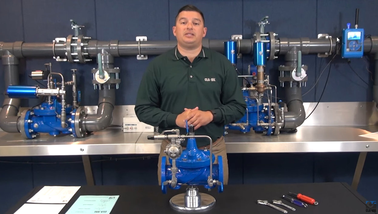 CLA-VAL 90-01 Pressure Reducing Valve Troubleshooting Animation